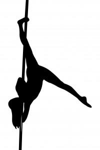Cours de pole dance niveaux intermédiaire